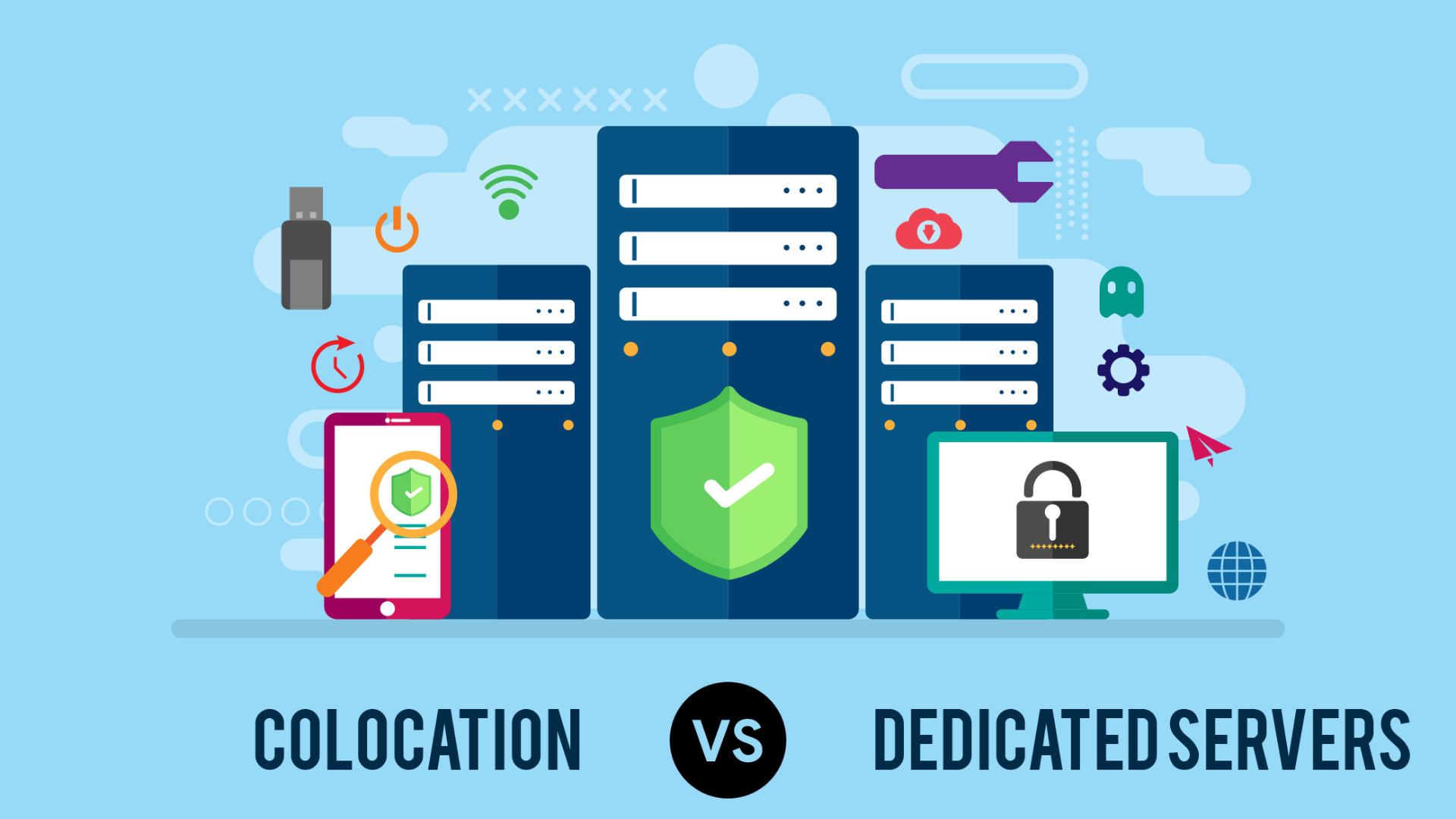 INFOGRAPHIC: Colocation vs. Dedicated Servers - What is ...